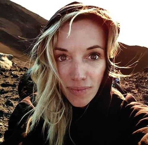 Anne Fornier vulcanóloga