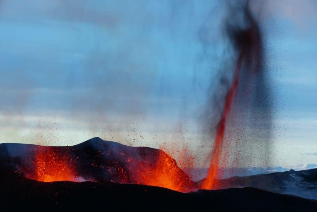estudio sobre el VEI de Volcano active foundation