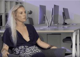 Anne fornier en su entrevista con jet8